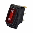 Red On/Off Switch with Weather-Resistant Rubber Boot for Razor Electric Scooters