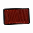 Red Rear Reflector for the Baja Mini Bike MB200