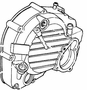 Right Crankcase Cover for Honda Helix CN250 (All Models) (OEM)