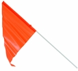 Safety Flag with Axle Mount (Sunlite)