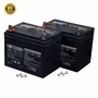 Shoprider Battery Pack - Set of 2 U1 (35 Ah) Scooter Batteries