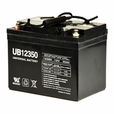 U1 (35 Ah) 12 Volt AGM Mobility Scooter Battery with Screw Terminals (UPG)