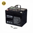 U1 (35 Ah) 12 Volt UB12350 AGM Mobility Scooter Battery with Screw Terminals (Universal Battery)