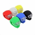 Waterproof LED Silicon Clip Light for Bikes & Scooters (Multiple Colors)