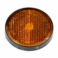 Amber (Yellow) Front Side Reflector for the Baja Mini Bike MB165 & MB200 (Baja Heat, Mini Baja, Baja Warrior)