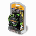 "Komelon 7125 Monster Mag Grip Pro 25' X 1"" Tape Measure Green"