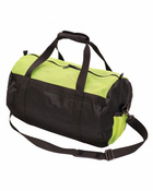 "Stansport, Mesh Top Roll Bag - 12"" X 20"" - Green/Black"