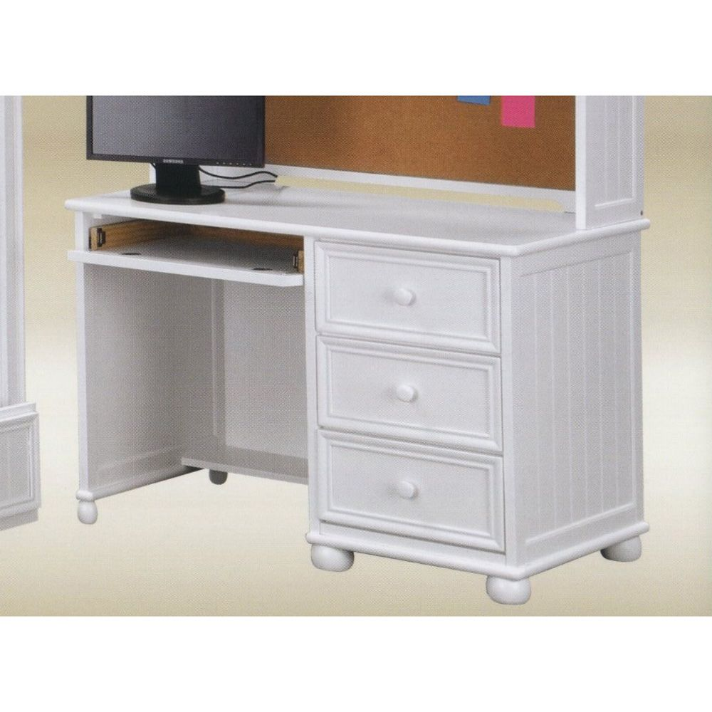 Bead Board White Kids Student Computer Desk