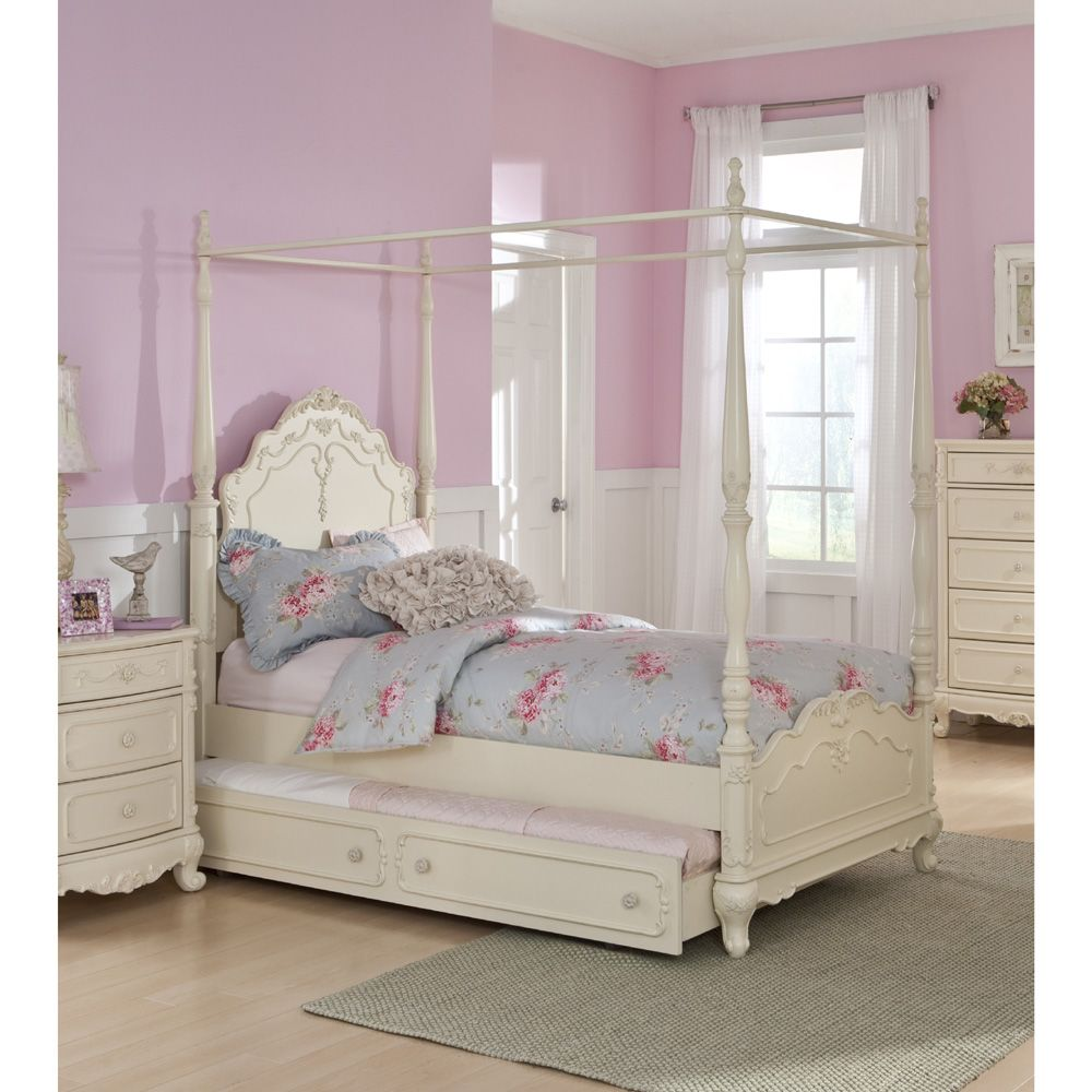 Canopy Girls Twin Canopy Bed