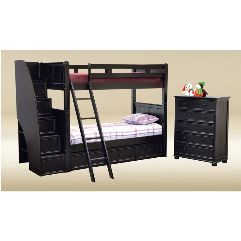 Stairway Bunk Bed with Drawers 792 x 792
