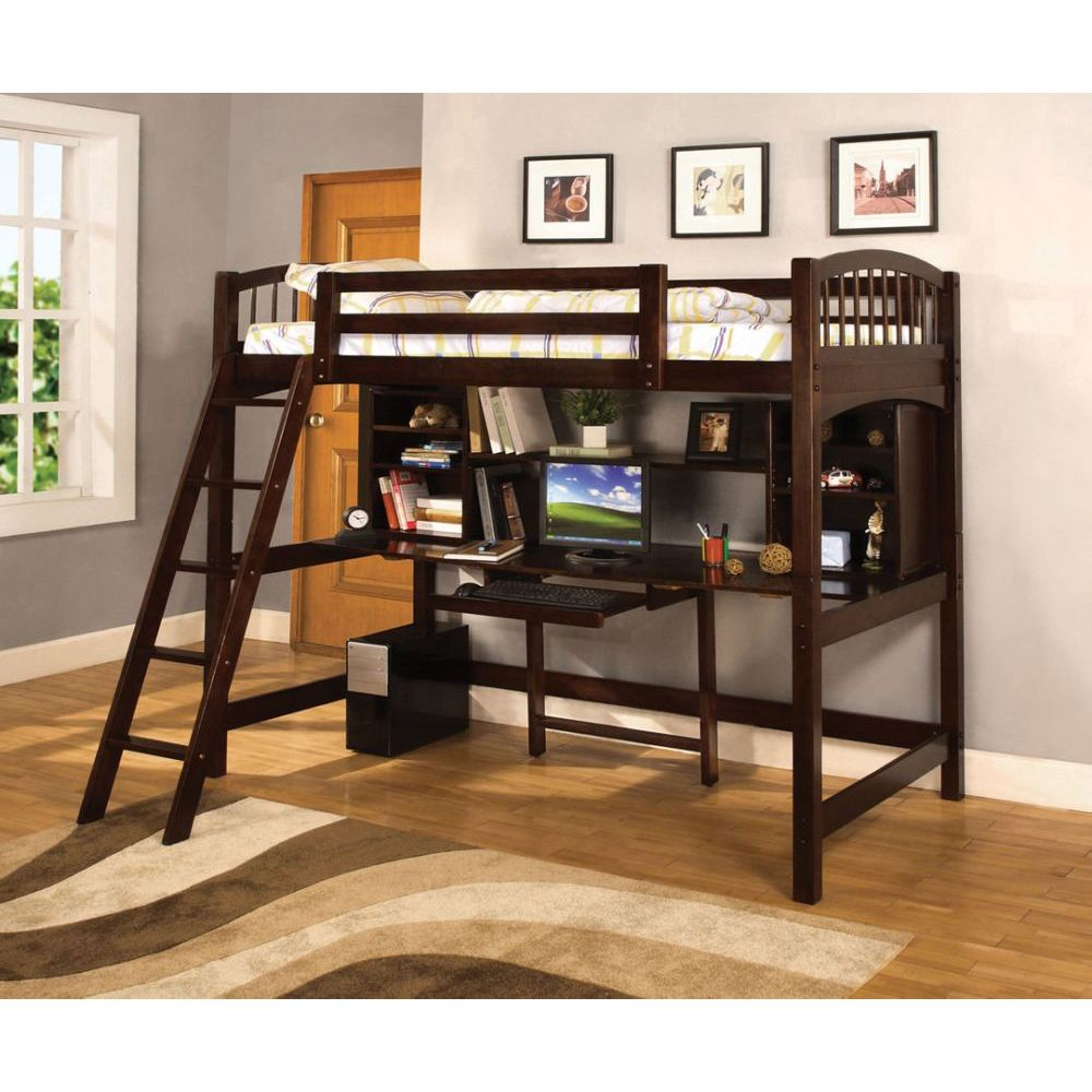 Twin Loft Bed with Workstation 1000 x 1000