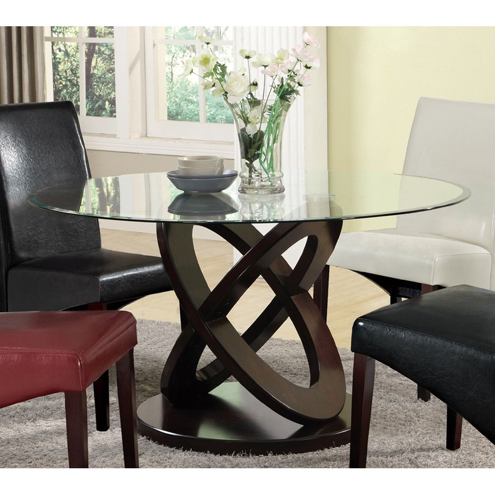 Round Glass Dining Table Top Best Dining Table Ideas