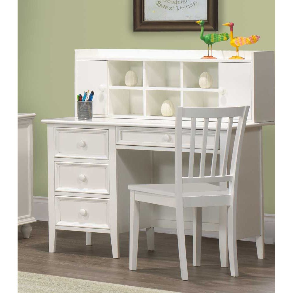 Gallery of Modern White Desk