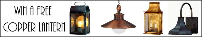 Enter Now To Win A Free Handmade Copper Lantern
