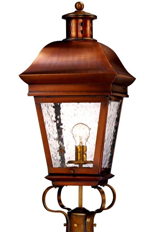 Copper Lamp Post Lights American Legacy Post Light Outdoor Copper Lantern