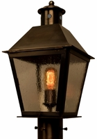 Banford Post Light Copper Lantern