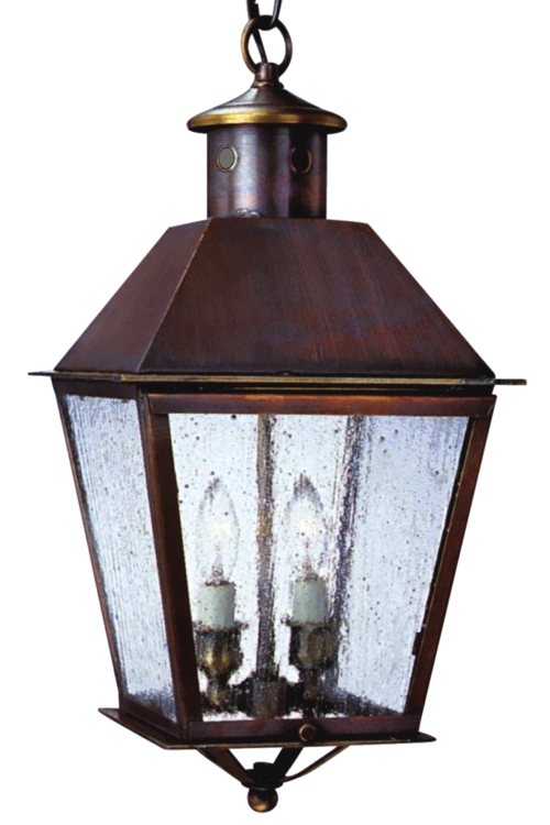 Banford Colonial Copper Lantern Pendant Hanging Light