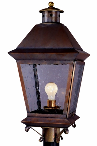 Brookfield Post Light Copper Lantern