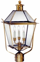 Carolina Colonial Post Lantern with Side Straps