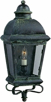 Milford Wall Mount Sconce Style Copper Lantern