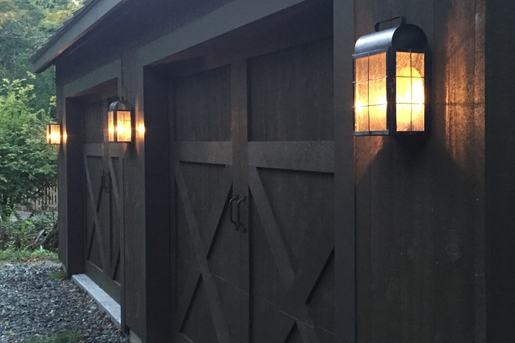 New Haven Wall Sconce Installation, New Milford, CT - Photo #1