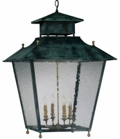 Normandie Copper Pendant Lantern