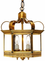 Princeton Hanging Mount Copper Lantern