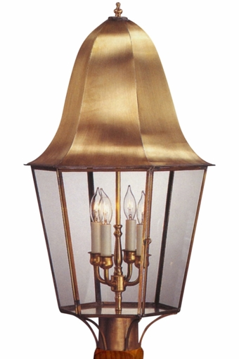 Waylon Post Light Outdoor Copper Lantern