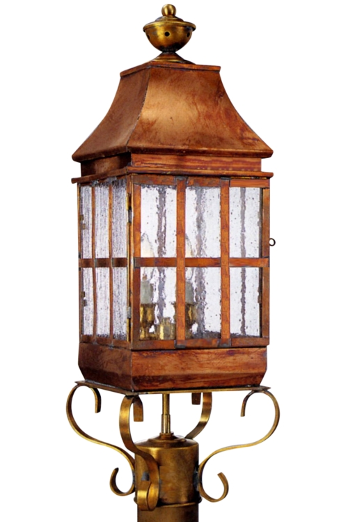 Copper Lamp Post Lights Weston Post Light Outdoor Copper Lantern