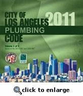 2011 City of Los Angeles Plumbing Code, Complete