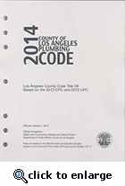 2014 County of Los Angeles Plumbing Code � Amendments only