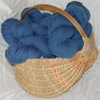 Clun Forest Wool 2 Ply Dark Blue Yarn