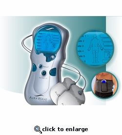 AuraWave T.E.N.S. Unit  Muscle Stimulator