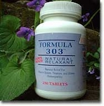 Formula 303 Natural Relaxant - 250ct