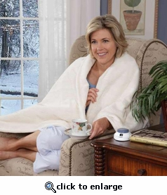 Soft Heat� Triple-Rib Electric Heated Throw