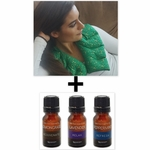 ***SPECIAL DEAL***  Nature's Approach� Shoulder Herbal Pack + SpaRoom� Everyday Essential Oils 3-Pack 10ML