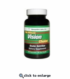 The Ultimate Vision Choice Supplement