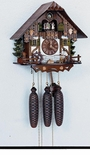 Black Forest Chalet Musical Cuckoo Clock
