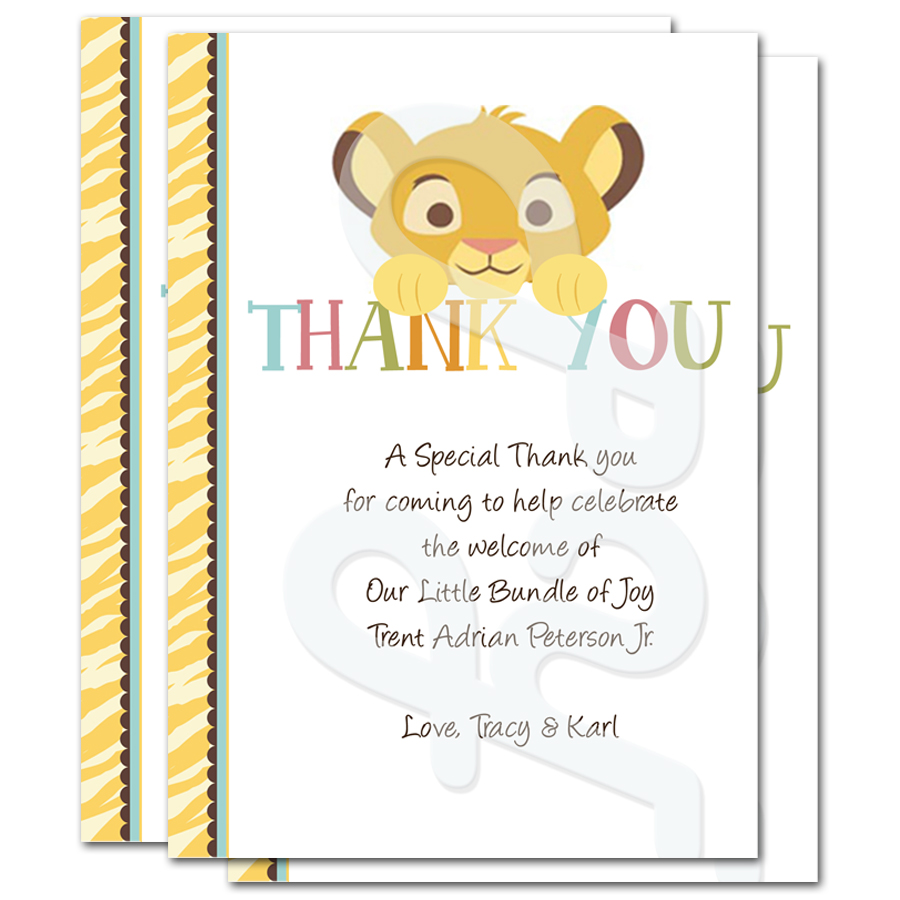 how to write thank you cards for baby shower Great thank you card templates for your baby shower august 1  the  essential part of making writing thank you notes is organization.