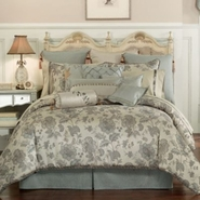 Waterford Kelly Sea Blue Queen Comforter