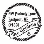 New--Gordon PSA Address Stamp
