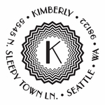 New--Kimberly PSA Address Stamp