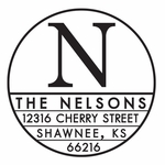 New--Nelson PSA Address Stamp