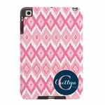 Pink Ikat iPad Case