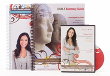 2017 Clinical LEAP Comprehensive Study Guide PLUS Audio Course AND DSM-5 Summary Guide Package