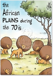 African Plains Card
