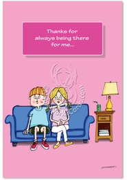 Always There Mom Card