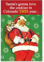 Colorado Cookies Card