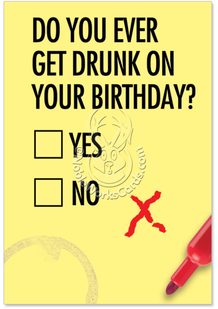 funny birthday cards about drinking – Drinking Birthday Cards