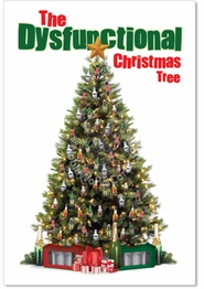 Dysfunctional Xmas Tree Card